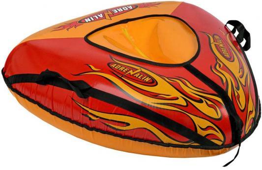 Тюбинг RT Пламя до 100 кг разноцветный ПВХ 6936 тюбинг rt апельсин с автокамерой до 100 кг пвх оранжевый 73 см 4997