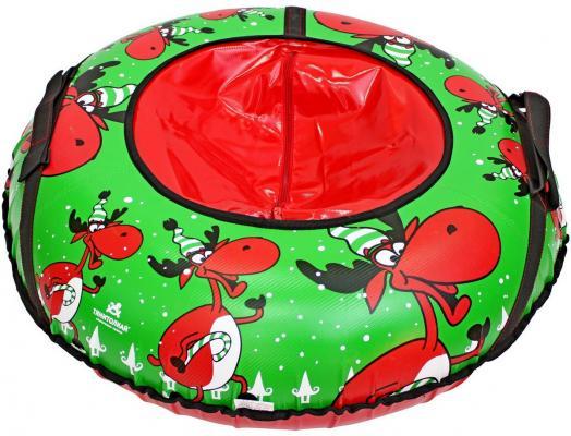 Тюбинг RT Весёлый олень до 50 кг рисунок тентовая ткань 6967 тюбинг rt весёлый олень до 50 кг рисунок тентовая ткань 6967