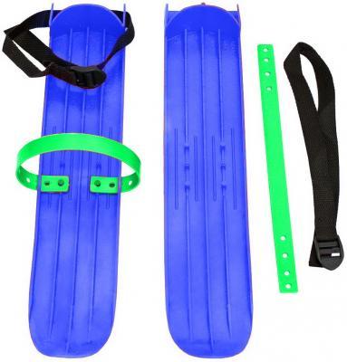 Мини-лыжи большие с ремнями РТ-2 (синий)