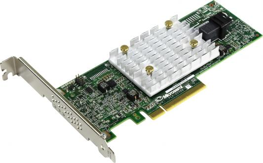 Microsemi Adaptec SmartRAID 3101-4i Single, 4 internal port,PCIe Gen3,x8,1 GB DDR4,RAID 0/1/10,RAID 5/6/50/60,FlexConfig