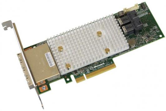 Купить со скидкой Microsemi Adaptec SmartRAID 3154-8i16e Single,8 internal port, 16 external ports, PCIe Gen3 ,x8,1 GB