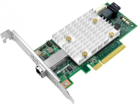 Microsemi Adaptec SmartHBA 2100-4i4e Single,4 internal ports, 4 external ports,PCIe Gen3 ,x8,,RAID 0/1/10/5,,FlexConfig,