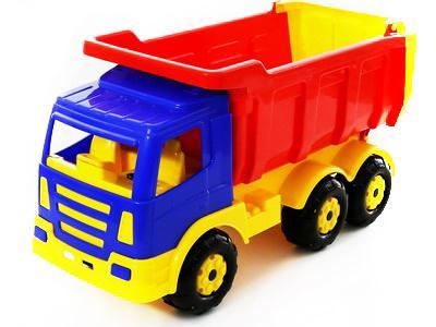 Самосвал Polesie Автомобиль-самосвал Премиум Wader разноцветный polesie автомобиль самосвал буран 3 бело красный полесье