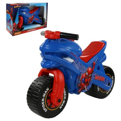 Каталка-мотоцикл Molto Каталка-мотоцикл Marvel Человек-паук разноцветный от 3 лет пластик s s toys каталка мотоцикл