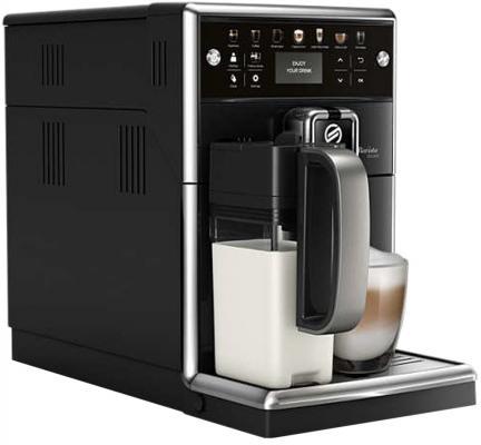 Кофемашина Philips SM5570/10 черный кофемашина philips hd8829