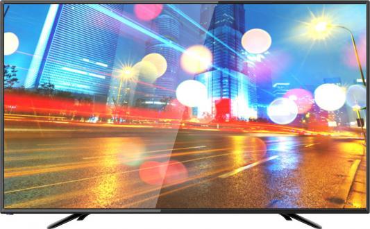 Фото - Телевизор Hartens HTV-43F01-T2C черный телевизор hartens htv 39hdr03b