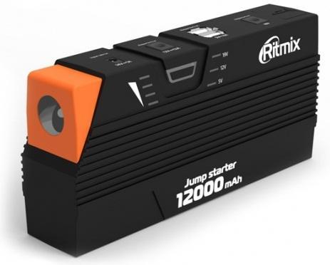 Пуско-зарядное устройство Ritmix RJS-12000 зарядное