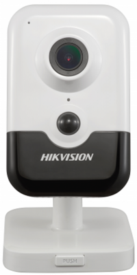"цена на Камера IP Hikvision DS-2CD2423G0-IW CMOS 1/2.8"" 4 мм 2048 x 1536 H.264 Н.265 MJPEG RJ45 10M/100M Ethernet PoE белый черный"