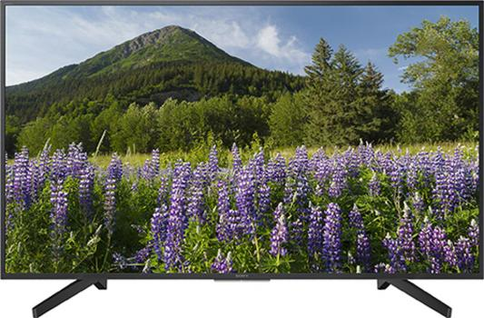 цена на Телевизор SONY KD-65XF7096 черный