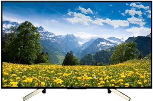 Телевизор 43 SONY KD-43XF7596 черный 3840x2160 50 Гц Wi-Fi Smart TV RJ-45 Bluetooth телевизор 43 sony kdl43wf665br черный 1920x1080 50 гц wi fi smart tv rj 45 usb