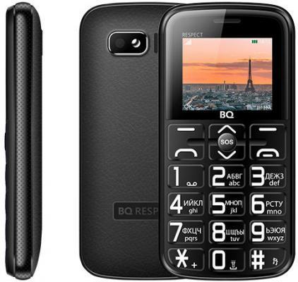BQ 1851 Respect Black Мобильный телефон мобильный телефон bq mobile bq 1800 respect black red