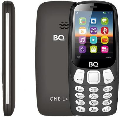 все цены на BQ 2442 One L+ Black Мобильный телефон