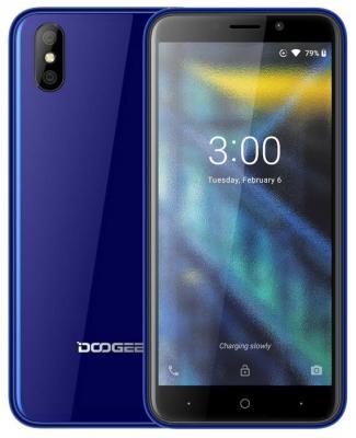 Смартфон Doogee X50L 16 Гб синий смартфон doogee bl12000 синий 6