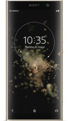Смартфон SONY Xperia XA2 Plus 32 Гб золотистый (H4413 Gold) азбука тойс детское лото цветы разноцветный