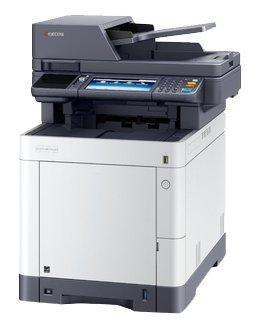 Фото - Многофункциональное устройство KYOCERA Цветной копир-принтер-сканер Kyocera M6235cidn (А4, 35 ppm, 1200 dpi, 1024 Mb, USB, Gigabit Ethernet, дуплекс, автоподатчик, тонер) продажа только с доп. тонерами TK-5280K/C/M/Y батарейка energizer max plus aa 4 шт