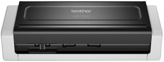 Сканер Brother компактный ADS-1700W сканер brother ads1100w черный [ads1100wr1]
