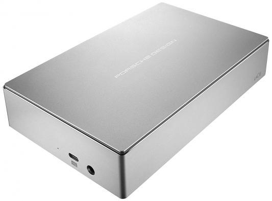 цена на Накопитель на жестком магнитном диске LaCie Внешний жесткий диск LaCie STFE6000401 Porsche Design Desktop Drive 3,5 6TB / USB 3.1 light-grey