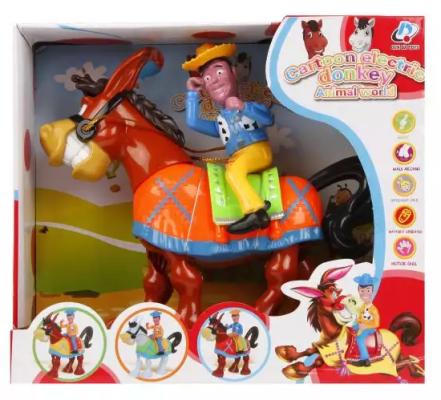 Интерактивная игрушка Наша Игрушка Веселый ковбой от 18 месяцев интерактивная игрушка наша игрушка телефончик е нотка от 18 месяцев цвет в ассортименте 60081
