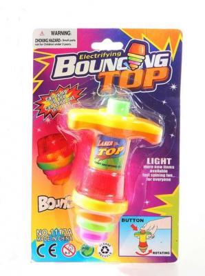 Купить Волчок Наша Игрушка Волчок прыгающий Bouncing Top, разноцветный, Неваляшки, юла