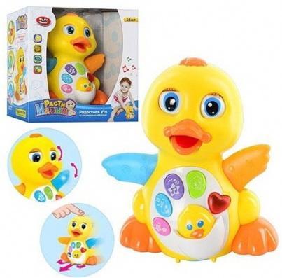 Интерактивная игрушка Наша Игрушка Расти, малыш. Радостная Утя от 1 года интерактивная игрушка ks kids девочка julia для купания от 1 года белый ка10419