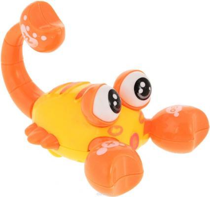 Интерактивная игрушка Наша Игрушка Скорпиончик от 3 лет в ассортименте интерактивная игрушка наша игрушка телефончик ало ало от 3 лет цвет в ассортименте 6688 1