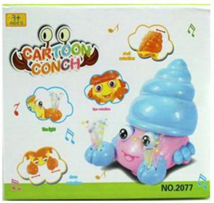 Купить Интерактивная игрушка Наша Игрушка Крабик от 3 лет, разноцветный, пластик, унисекс, Игрушки со звуком