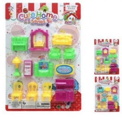 Набор мебели Наша Игрушка Набор мебели для кукол Мини CuteHome игрушка