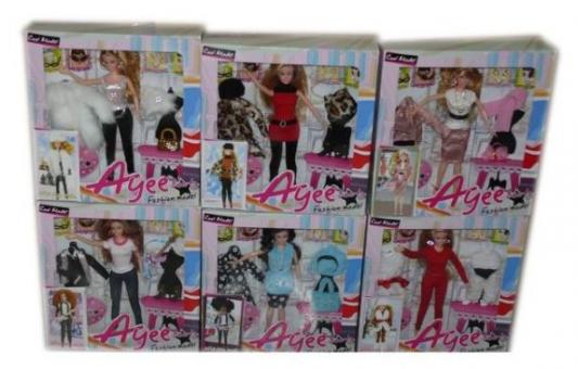 Кукла Наша Игрушка Кукла-модница 35 см