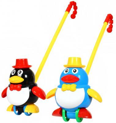 Каталка Наша Игрушка Пингвин цвет в ассортименте от 1 года пластик каталка детская наша игрушка барабан с шариком в ассортименте