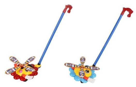 Каталка Наша Игрушка Солнышко цвет в ассортименте от 1 года пластик интерактивная игрушка наша игрушка телефончик е нотка от 18 месяцев цвет в ассортименте 60081