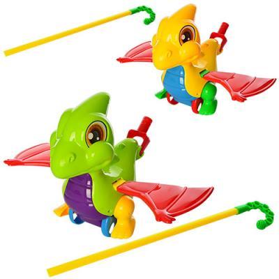 Каталка Наша Игрушка Дракоша цвет в ассортименте от 1 года пластик интерактивная игрушка наша игрушка телефончик е нотка от 18 месяцев цвет в ассортименте 60081