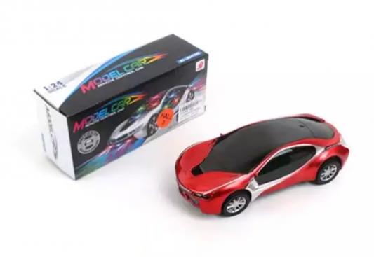 Автомобиль Наша Игрушка 1:24 красный автомобиль наша игрушка автомаркет красный zya a2689 2