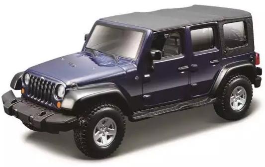 Купить Джип Bburago Jeep 1:32 фиолетовый, Детские модели машинок
