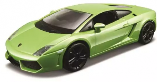Автомобиль Bburago Lamborghini 1:32 салатовый bburago машина mercedes benz cl550 металл сборка 1 32 bburago