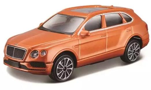 Купить Автомобиль Bburago Alfa Romeo 1:43 оранжевый, Детские модели машинок