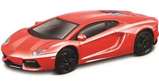 Автомобиль Bburago Lamborghini 1:43 красный автомобиль bburago bmw 3 series touring 1 24 белый 18 22116