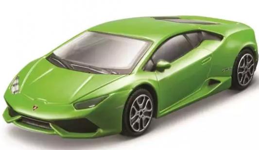 Автомобиль Bburago Lamborghini 1:43 салатовый автомобиль bburago lamborghini sesto elemento 1 24 18 21061