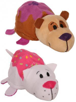 Мягкая игрушка Вывернушка Ням-Ням 2в1, Панда-Кошечка с ароматом, 12 см мягкая игрушка вывернушка ням ням 2в1 морской котик пингвинчик с ароматом 12 см