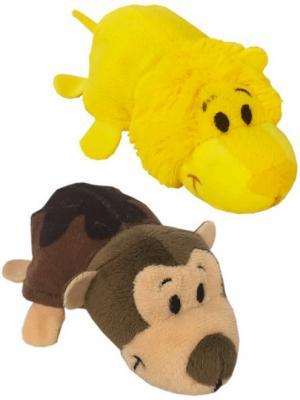 Мягкая игрушка вывернушка 1toy Ням-Ням. Лев-Мартышка плюш 12 см цена
