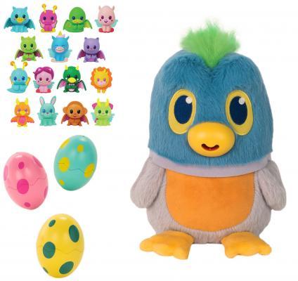 Купить Мягкая игрушка утка 1toy Дразнюка-несушка. Несутка пластик текстиль плюш наполнитель 20 см, разноцветный, плюш, пластик, текстиль, наполнитель, Интерактивные мягкие игрушки