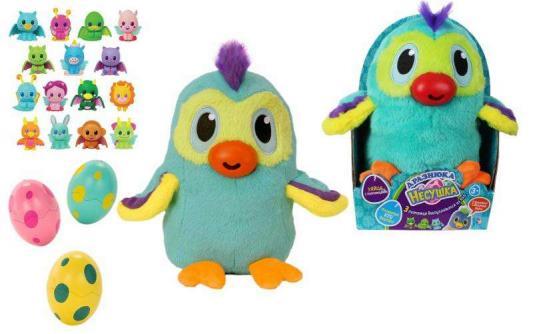 Купить Мягкая игрушка цыпленок 1toy Дразнюка-Несушка Арапопка плюш наполнитель текстиль пластик 20 см, разноцветный, плюш, пластик, текстиль, наполнитель, Интерактивные мягкие игрушки
