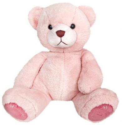 Мягкая игрушка медведь Fluffy Family Мишка Зефирчик искусственный мех трикотаж розовый 20 см мишка fluffy family тимка 30 см розовый 681258