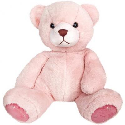 Мягкая игрушка медведь Fluffy Family Мишка Зефирчик искусственный мех трикотаж пластмасса розовый 27 см мишка fluffy family тимка 30 см розовый 681258