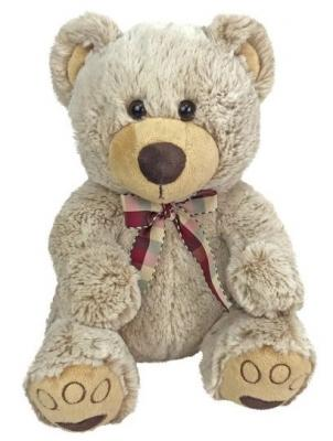 Мягкая игрушка медведь Fluffy Family Мишка Карамелька искусственный мех трикотаж бежевый 28 см мишка fluffy family тимка 30 см розовый 681258
