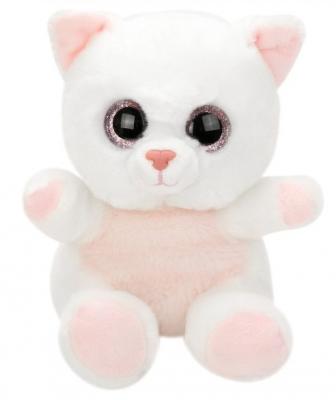 Купить Мягкая игрушка котенок Fluffy Family Крошка Котенок бел. искусственный мех наполнитель белый 15 см, искусственный мех, наполнитель, Животные