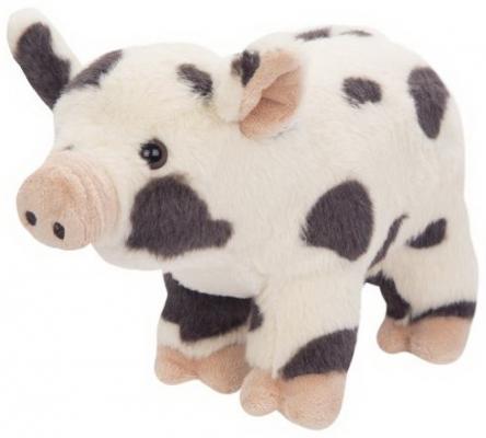 Купить Поросенок Пятныш 25см, Fluffy Family, разноцветный, 25 см, искусственный мех, трикотаж, Животные