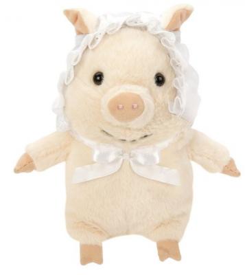 Мягкая игрушка свинка Fluffy Family Бэби Свин искусственный мех трикотаж пластмасса наполнитель 15 см мягкая игрушка единорог fluffy family единорог искусственный мех пластмасса наполнитель розовый 80 см