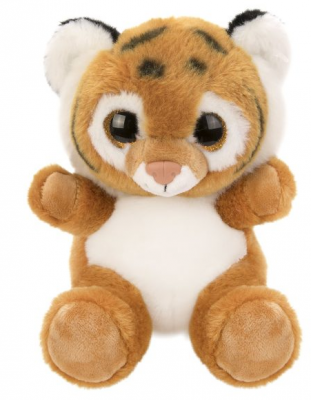 Мягкая игрушка Тигренок Fluffy Family Крошка Тигренок искусственный мех наполнитель 15 см