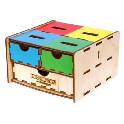 Купить Комодик-плоский Фрукты, овощи, ягоды, Woodland, Развивающие игрушки из дерева