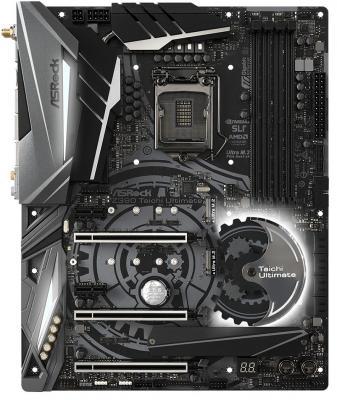 Материнская плата ASRock Z390 TAICHI ULTIMATE Socket 1151 v2 Z390 4xDDR4 3xPCI-E 16x 2xPCI-E 1x 8 ATX Retail